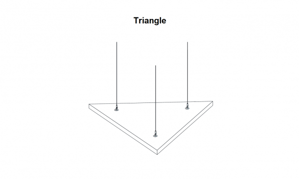 Aufhängung Solo Freedom Triangle